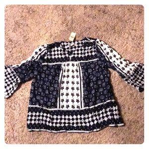 Brand new LOFT blouse
